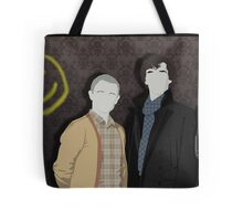Sherlock Office party Tote Bag