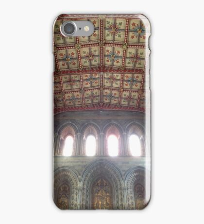 St. David's Cathedral, Wales: Exquisite details iPhone Case/Skin