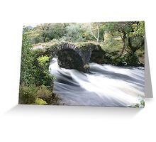 all just water under the bridge Greeting Card