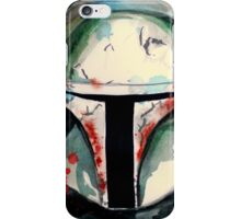 Boba Fett Illustration iPhone Case/Skin