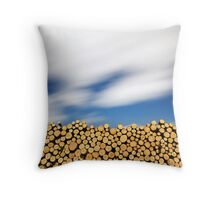 The Smell of Pine Throw Pillow