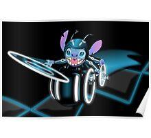 Tron Stitch Poster