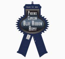 Phoenix Comicon Tardis Ribbon Army by 3DrunkGeeks