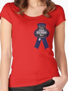 Phoenix Comicon Tardis Ribbon Army Women's Fitted Scoop T-Shirt