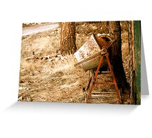 Rustic Greeting Card