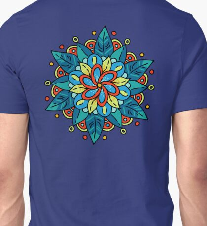 Colourful Flower Unisex T-Shirt