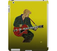 Bowie Guitar 2 iPad Case/Skin