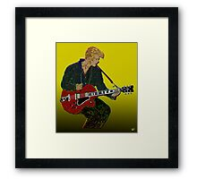 Bowie Guitar 2 Framed Print
