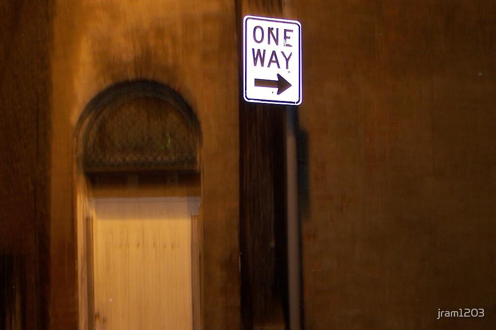 one way by jram1203