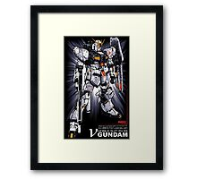 Nu Gundam Framed Print