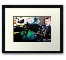 Time passing... Framed Print