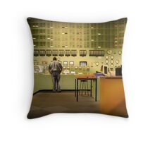 Bruno's Office Throw Pillow