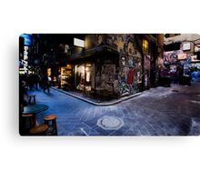Centre Place, Melbourne Canvas Print