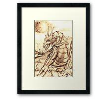 Dragon Vigil Framed Print