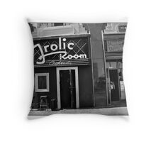 A Bar for Frolickers Throw Pillow