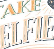 Take a Selfie Sticker