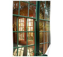 Cottage Windows,Cobin Farm Geelong Poster