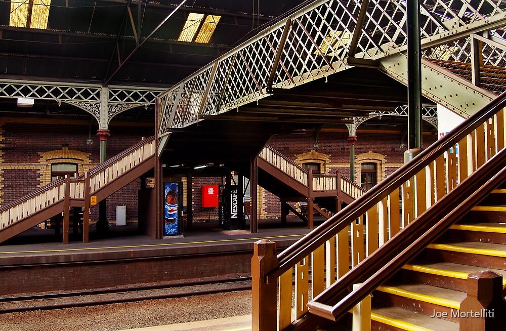 Geelong Railway Station by Joe Mortelliti