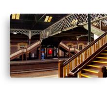 Geelong Railway Station Canvas Print
