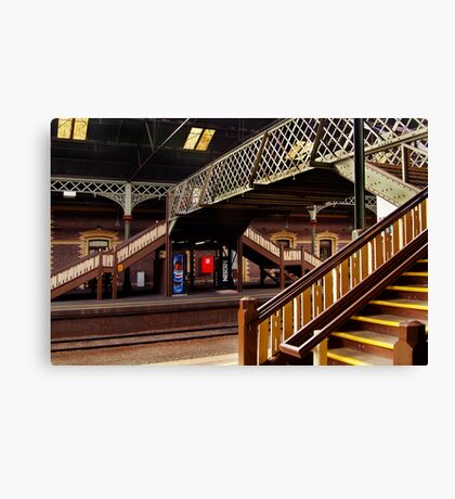 Geelong Railway Station Canvas Print