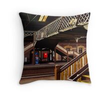 Geelong Railway Station Throw Pillow