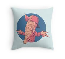 Armadillbro Throw Pillow