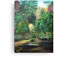 Oak Creek Canyon......Grass Hopper Point....... Canvas Print