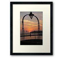 Cowes Sunrise Framed Print
