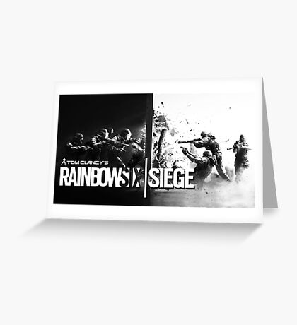 Rainbow Six Siege Greeting Card