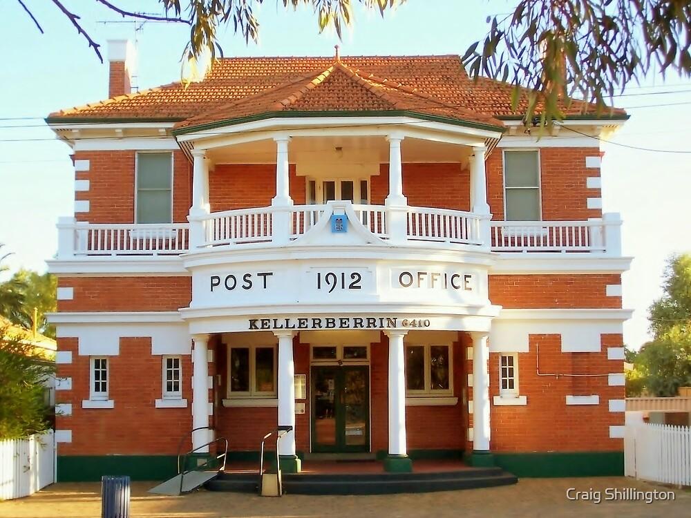 Kellerberrin Post Office by Craig Shillington