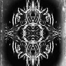 Digital Fingerpainting Black & White Design by fantasytripp