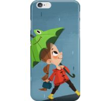 Rainy days iPhone Case/Skin