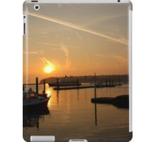 Cowes Sunrise iPad Case/Skin