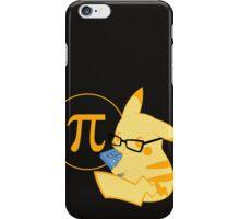 Pi-kachu V. Coloured 1 iPhone Case/Skin