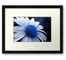 Feelin Blue Framed Print
