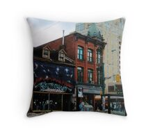 City of Angels (Queen West & Spadina, Toronto, Ontario, Canada, March 2007) Throw Pillow