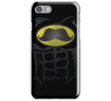 MustacheMan - Funny Comic Book Super Hero iPhone Case/Skin