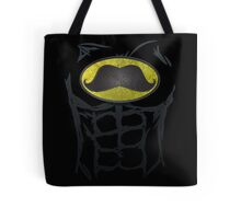 MustacheMan - Funny Comic Book Super Hero Tote Bag
