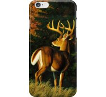 Indecision - Whitetail Buck iPhone Case/Skin