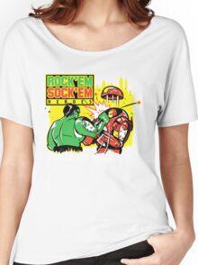 ROCK EM' SOCK EM' HEROES Women's Relaxed Fit T-Shirt