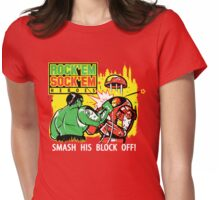 ROCK EM' SOCK EM' HEROES Womens Fitted T-Shirt