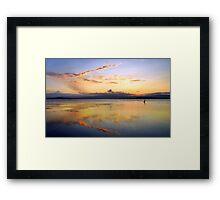 Lake Illawarra, NSW, Australia Framed Print