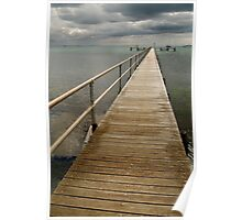 Jetty,Corio Bay Geelong Poster