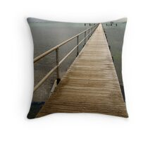 Jetty,Corio Bay Geelong Throw Pillow