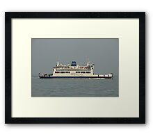 St Faith leaving Fishbourne Framed Print