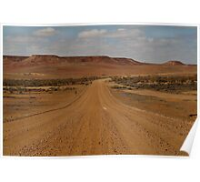 Oodnadatta Track,Ouback South Australia Poster