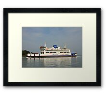 St Helen approaching Fishbourne Framed Print