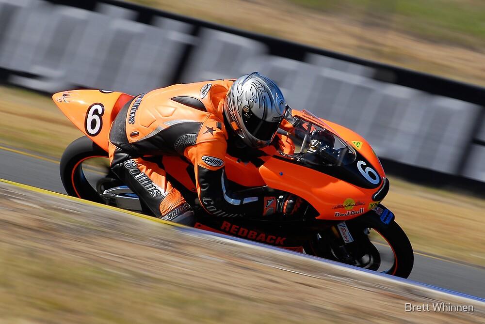 Paul Campbell - 125GP by Brett Whinnen