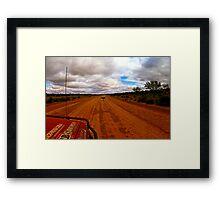 Outback Emu Framed Print