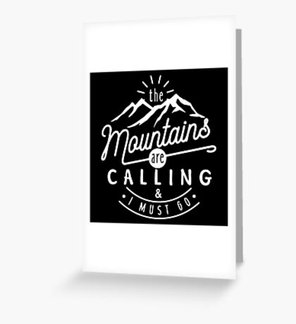 are calling Greeting Card